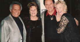 Dan and Pat with Lezlie and Buddy Greco