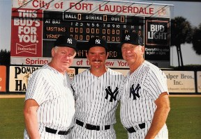 Whitey Ford, Dan, Mickey Mantle=